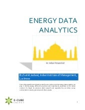 Energy Data Analytics | Energy Efficiency | India
