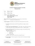 Eliminate the Digital Divide Advisory Committee Meeting Minutes for February 10, 2014