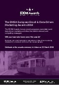EDDM Awards - Email marketing and data driven marketing awards EMEA