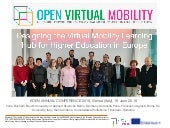Designing the Virtual Mobility Learning Hub for Higher Education in Europe