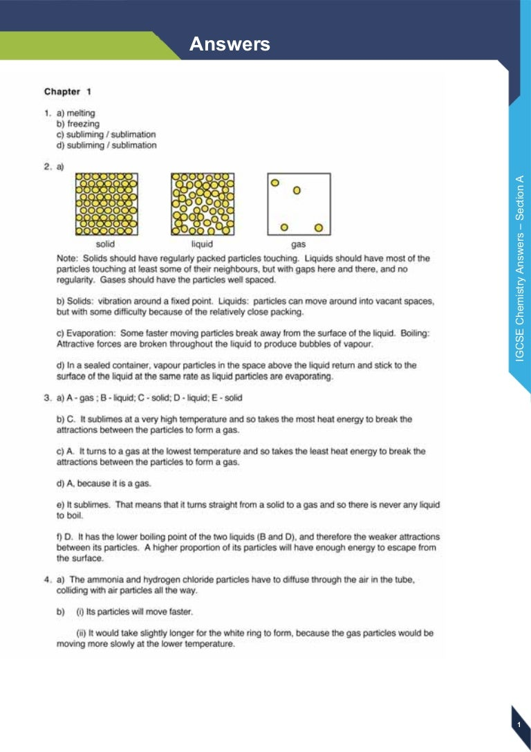 Igcse Chemistry Revision Guide Pdf