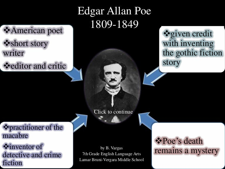 critical analysis edgar allan poe Annabel lee by edgar allan poe - love poem literary analysis, structural analysis and guidance for usage of quotes annabel lee is a ballad or a narrative poem and its major theme is love.