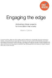 Engaging the Edge – Activating citizen experts for innovation that works