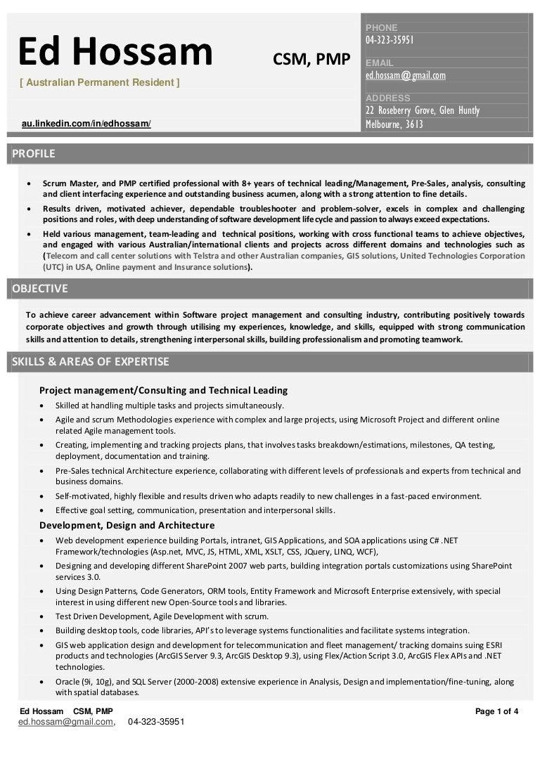 Ed Hosam Resume management [PDF]