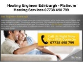 Boiler Installations Edinburgh