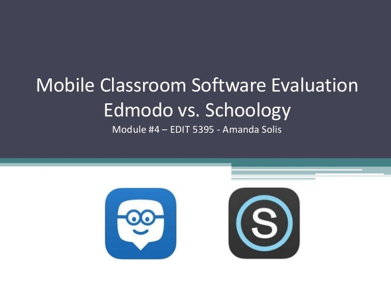 Edit   Mobile Classroom Software Evaluation
