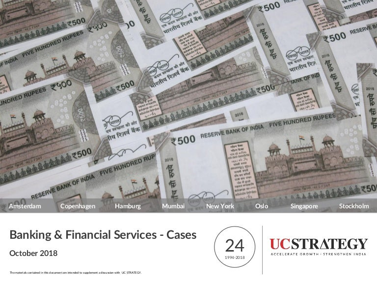 Financial Services Consulting Banking And Financial Services Cases