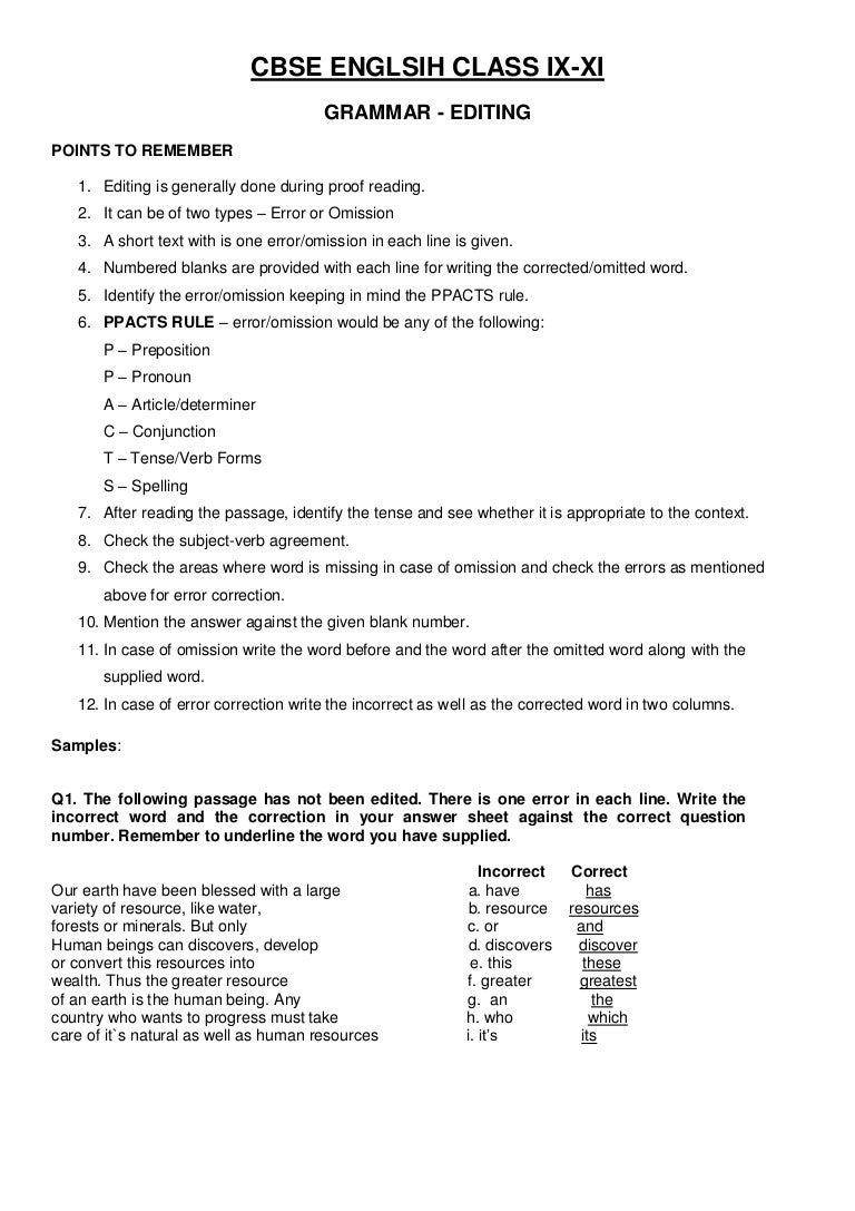 - Cbse English Grammar Class 7 - Rajasthan Board D