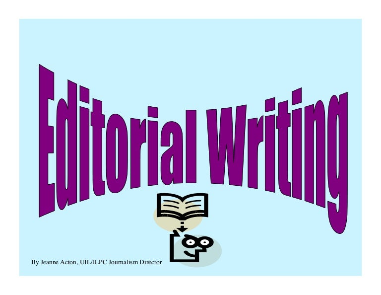 Editorial writing-tips