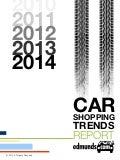 Edmunds 2014 Car Shopping Trends Report