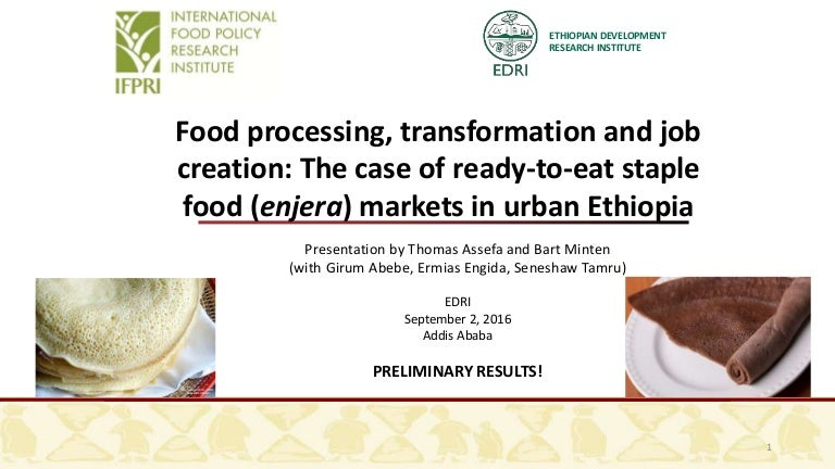 Food processing transformation and job creation the case of ready t forumfinder Choice Image