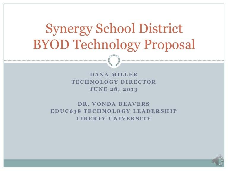 Sample BYOD Technology Proposal