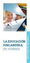La Educación finlandesa en síntesis
