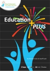 Education PLUS The world will be led by people you can count on, including you!