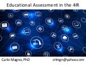 Educational assessment in the 4 ir