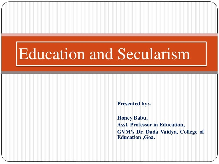short essay on secularism in india