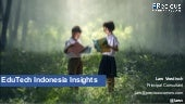 Education Technology - Indonesia insights 2019