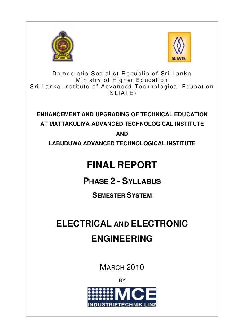 Hnde Electrical Engineering Syllabus Circuitsymbols David