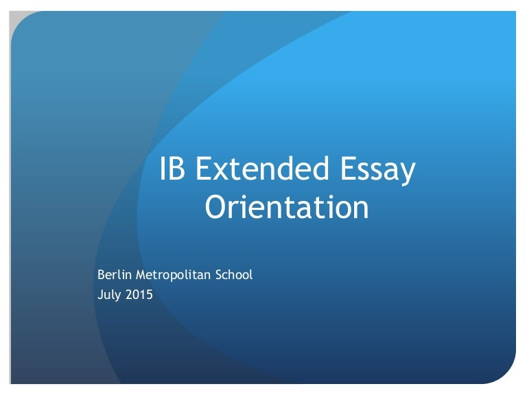 good extended essay 50 best extended essays custom academic writing and editing service - get non-plagiarized essays, research papers and up to dissertations plagiarism free professional essay and research.