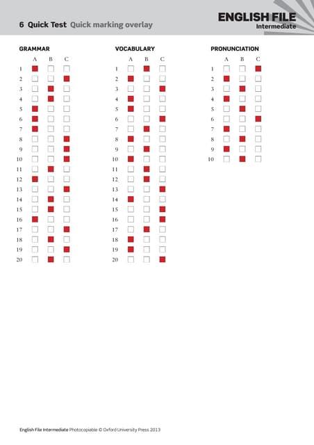 Ef3e uppint quicktest_06_answer_sheet
