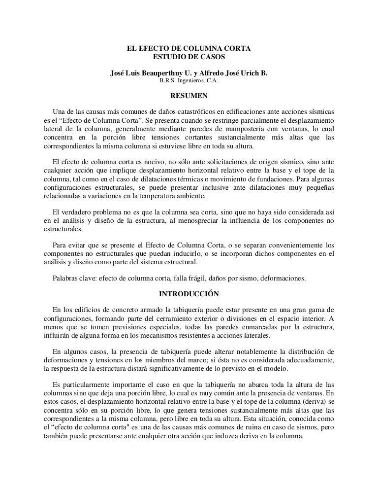 Efecto de columna_corta_jose-beauperthuy-alfredo-urich