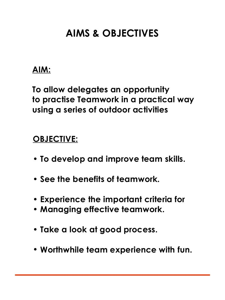 effective teamwork attachment