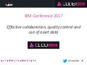 Effective collaboration, quality control and use of asset data