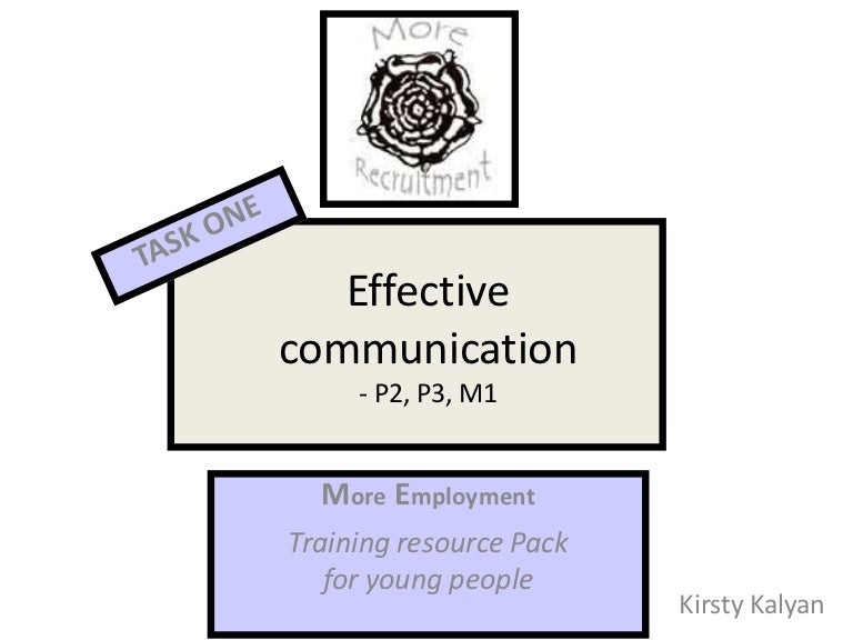 effective communication with young adults