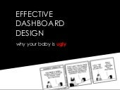 Effective Dashboard Design: Why Your Baby Is Ugly (Big Design Conference 2010)