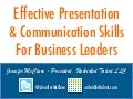 Effective Presentation & Communication Skills For Business Leaders