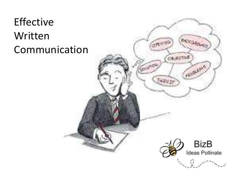 Effective Written Communication