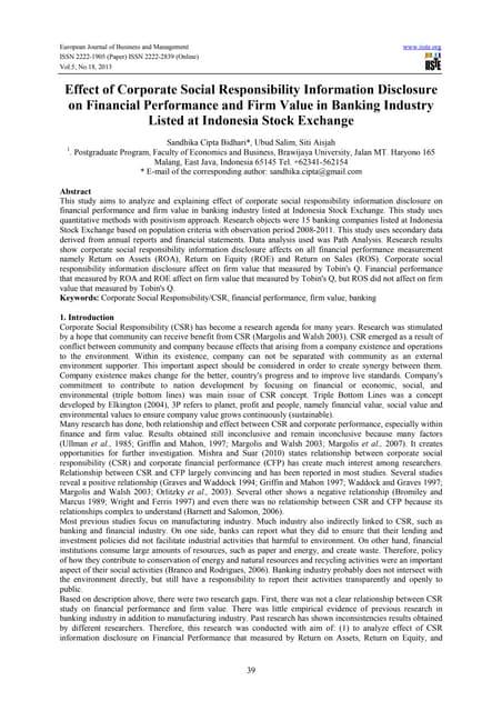 Corporate social responsibility dissertation proposal