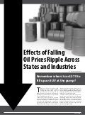 Effects of Falling Oil Prices Ripple Across States and Industries
