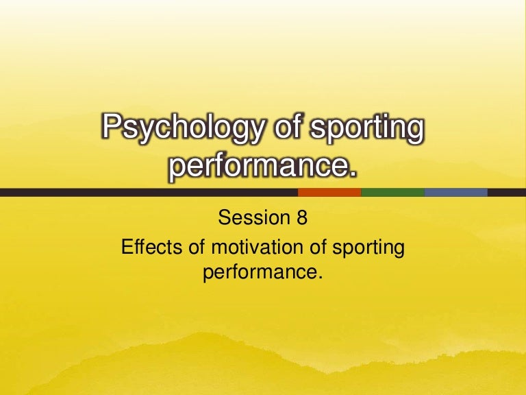 effects of motivation on the performance of Performance of an employee is a function of his ability and his motivation as ability determines what he can do while motivation determines what he will do he further stress that lazy and irresponsible people seldom get.