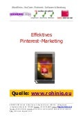 Effektives Pinterest-Marketing