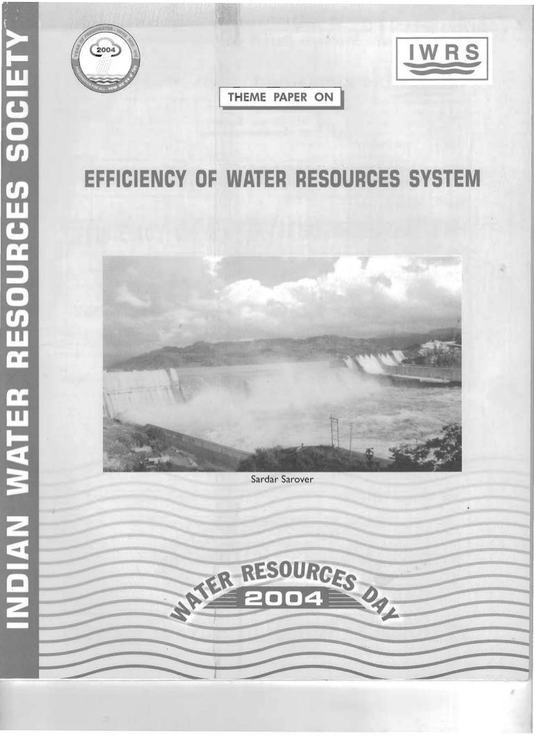 EFFICIENCY OF WATER RESOURCES SYSTEM WRD - 2004