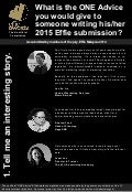 14 Expert Tips on Writing an Effie-Winning Submission