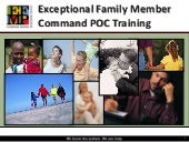 Exceptional Family Member Efm training2  - efmrpt