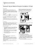 Edwards Signaling WG4RF-HVMC Data Sheet