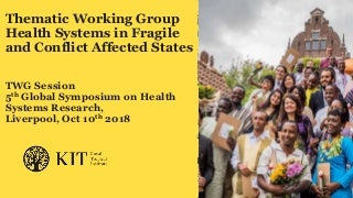 Context, gender and sustainability in introducing and scaling-up essential health care packages in fragile and crisis-affected countries - an introduction