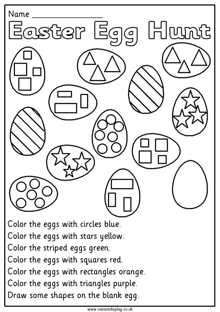 worksheet Free Easter Worksheets easter mathematics worksheets for 1st grade
