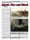 Egypt: Fire And Flood  -  Prohecy In The News Magazine  -  February 2007