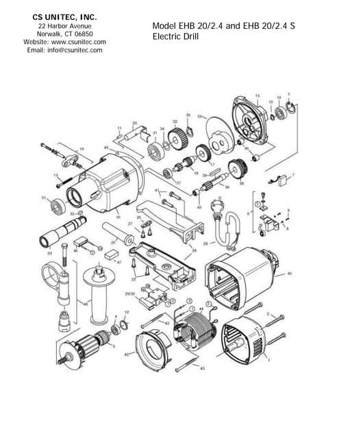 CS Unitec Electric and Pneumatic Portable Hand-Held Mixers