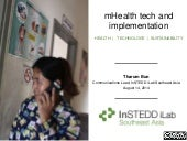 mHealth tech and implementation