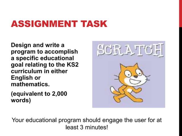 Ei505   assignment guidance