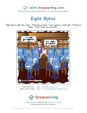Eight bytes - Webcomic about programmers, web developers and