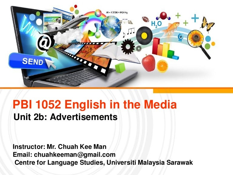 English In The Media Advertising Techniques
