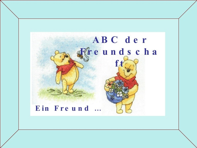Freundschafts Abc