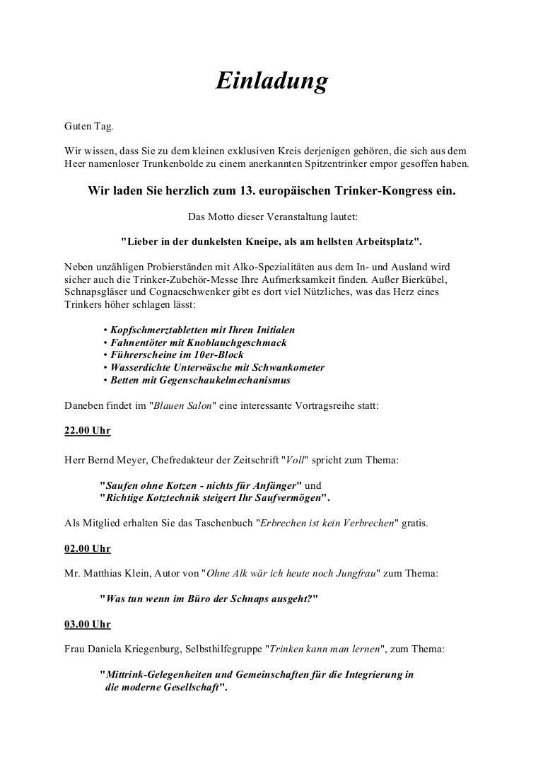 einladung zum betriebsfest | animefc, Einladung