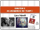 Einstein e as maquinas do tempo